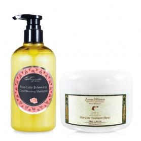 洗髮精-火2+送玫瑰身體乳