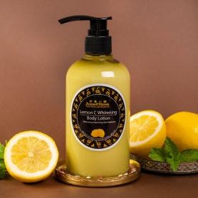 檸檬C嫩白身體乳液 - 金